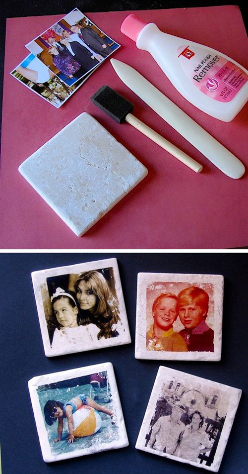 13dCustom photo coasters! So easy to make.a3468055bedeea06c6f03e14b1e30894