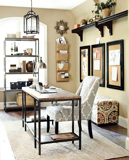 Home office ideas 30 designs to inspire your office decor - Ballard design home office ...