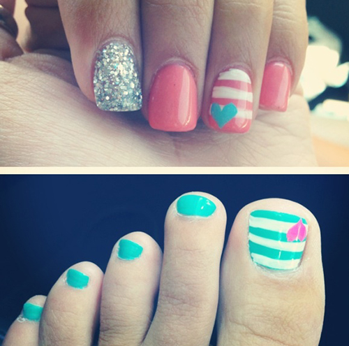 20 Trend Summer Nail Art Design Ideas