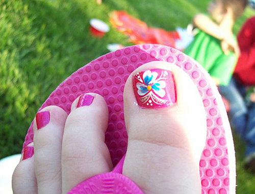 4dFlower-Toenail-Designs
