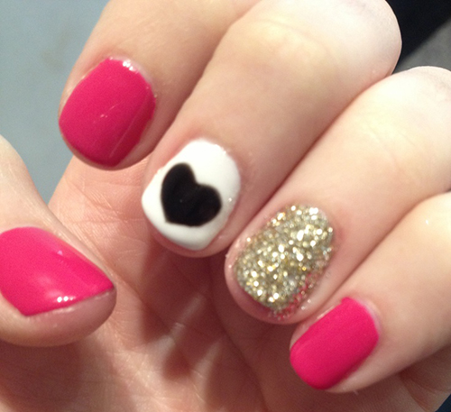 Easy Nail Art For Teenagers 2018 Images Pictures 22 Pink Nail